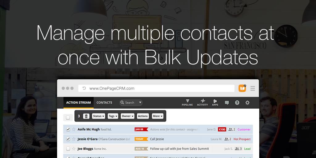 bulk updates