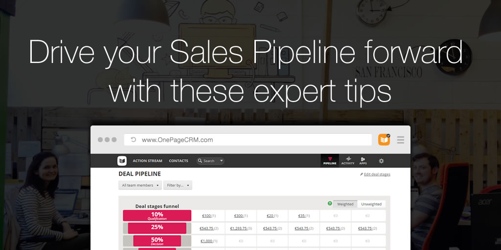 how to create a sales pipeline