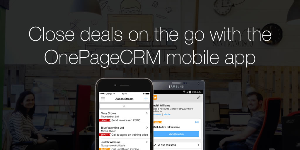 Mobile crm, wireless crm software, crm software, web based crm.
