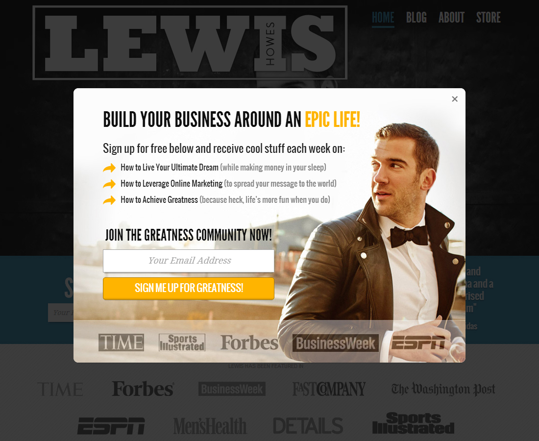 LewisHowes_email_signup_popup