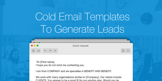 Cold Email Prospecting Templates