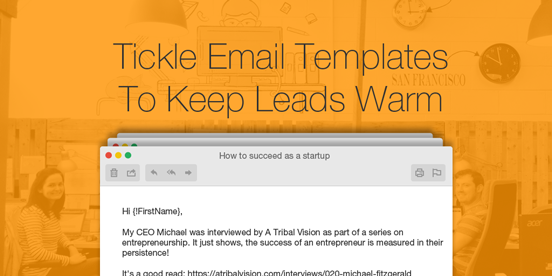 Tickle Nudge EmailTemplates