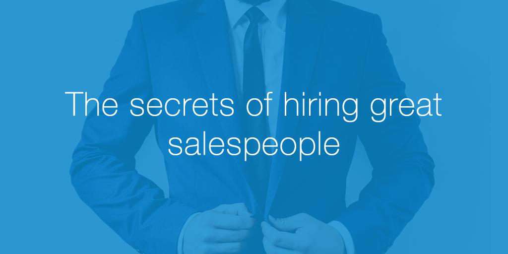 hiring-salespeople