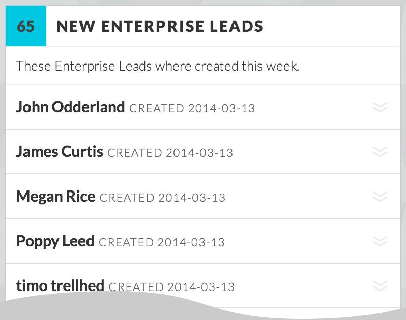 New Leads List