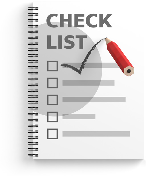 How to make your first sale checklist