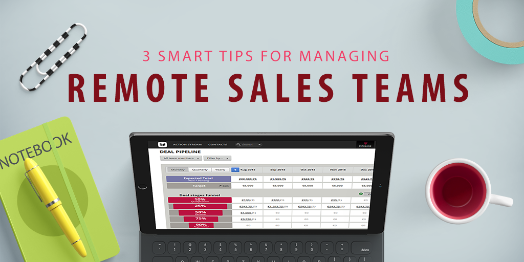 Remote sales teams