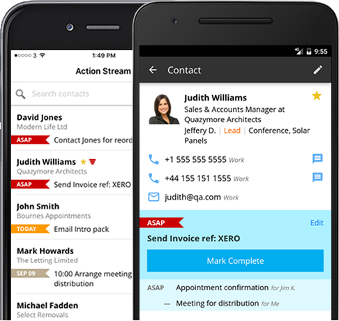 Top Reasons Why Mobile CRM Is Critical To Sales Success - Invoice asap android