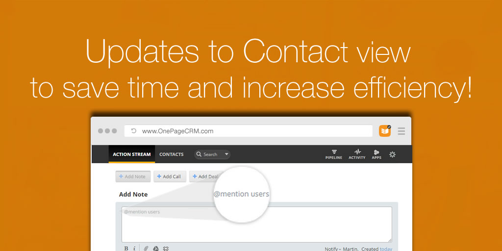 Updates to Contact View Header Image