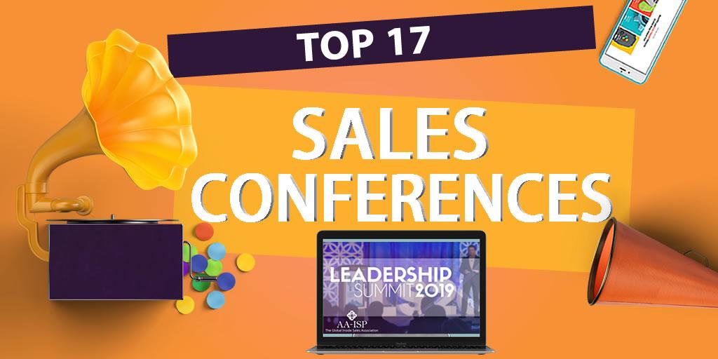 Top sales conferences 2019